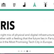 Paris, ville européenne high tech no. 1