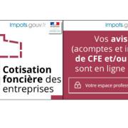 Nouveauté cette année : les avis de CFE sont accessibles uniquement en ligne